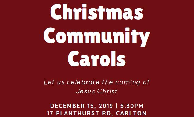 2019 Community Carols