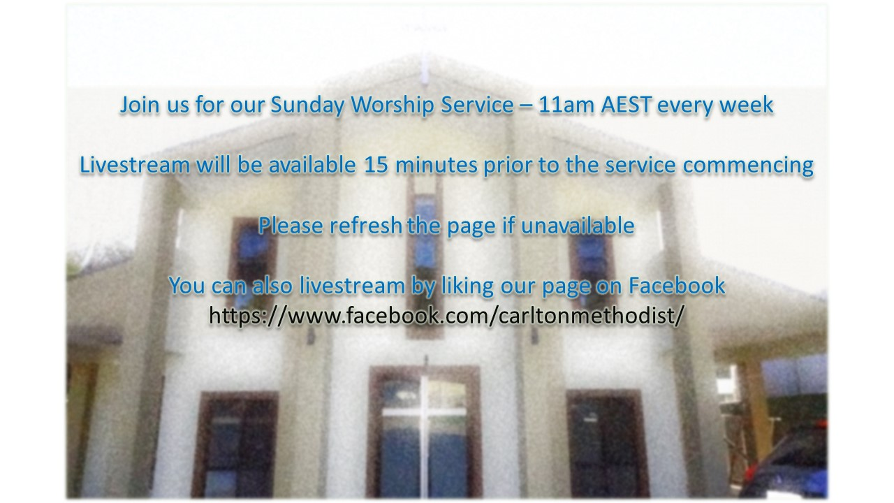 English Sunday Service Livestream